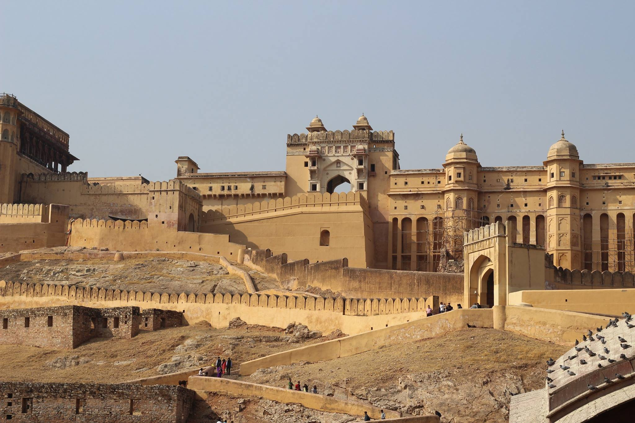 The fort in Jaipur is one of the most incredible in India!