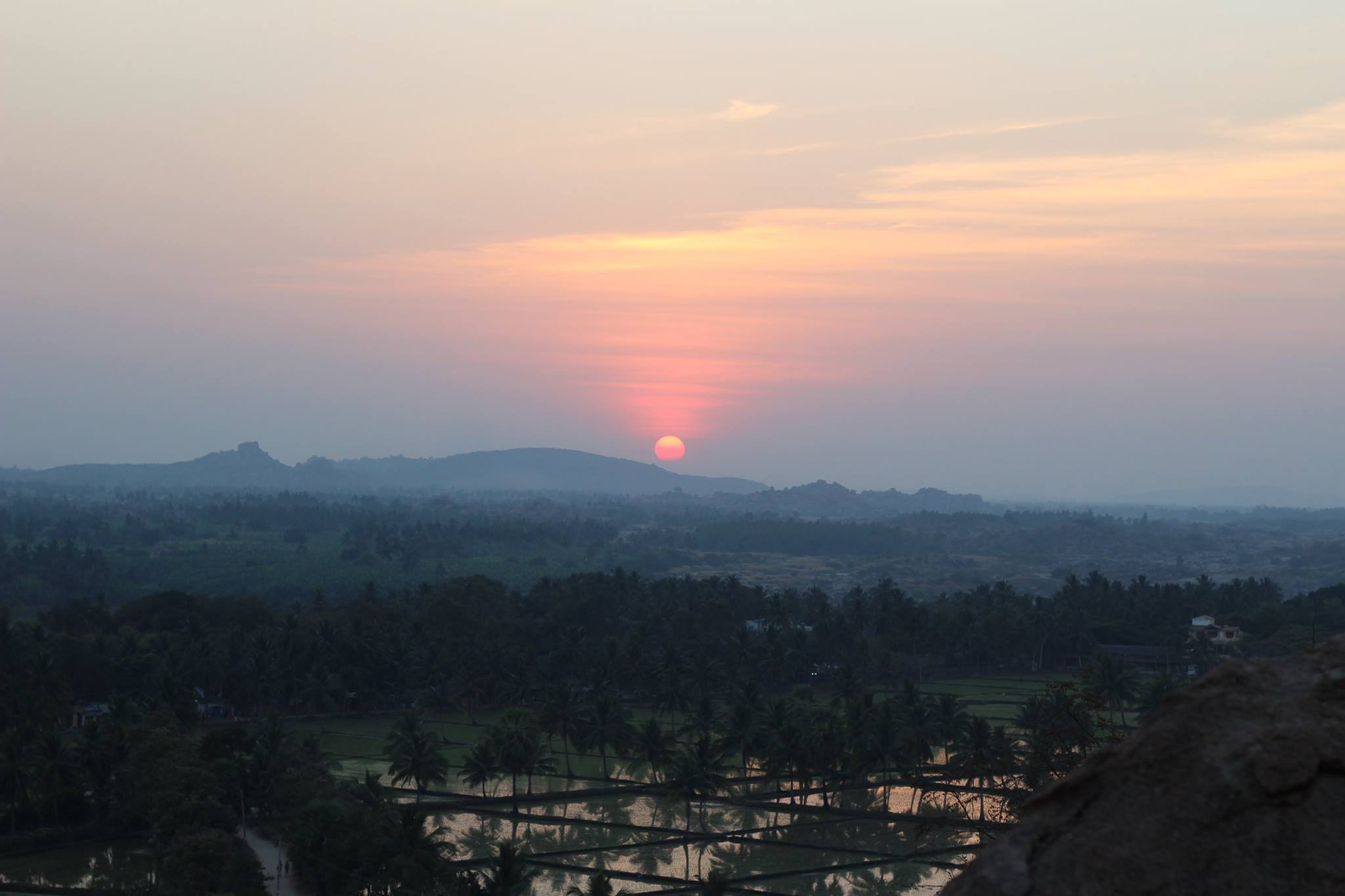 Sunsets in India seem to be all that more special